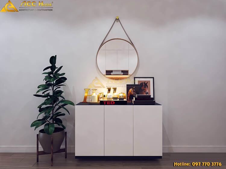 Thiết kế nội thất bàn trang điểm