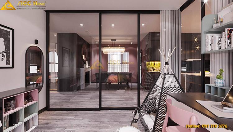 Thiết kế phòng ngủ với không gian mở