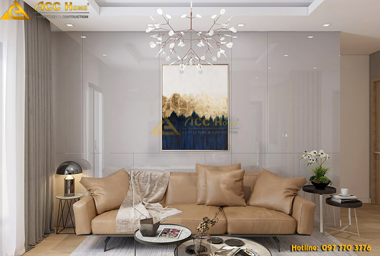 Thiết kế nội thất nhà phố diện tích 95m2 tại Bắc Ninh