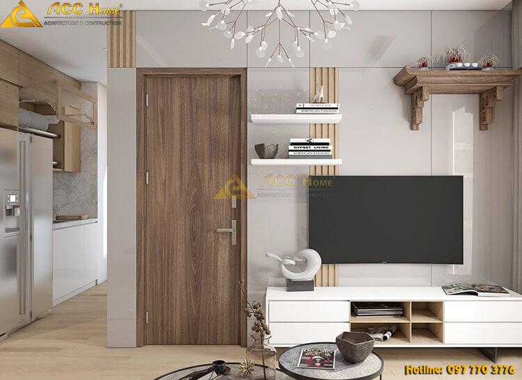 thiết kế nội thất phồng khách tại tp Bắc Ninh
