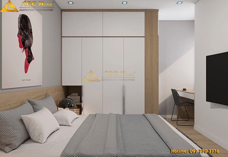 Phối ánh sáng không gian phòng ngủ