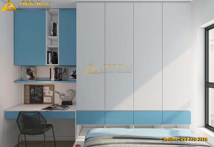 Thiết kế nội thất phòng ngủ của con gái
