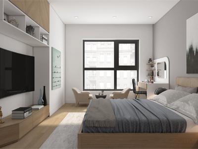 nguyên tắc thiết kế nội thất nhà phố hiện đại