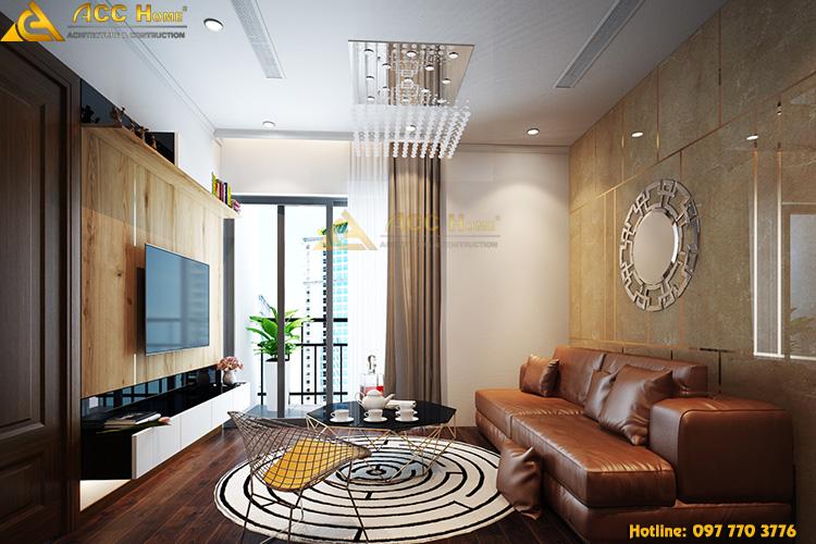 Thiết kế nội thất nhà phố hiện đại tại thành phố Hải Dương