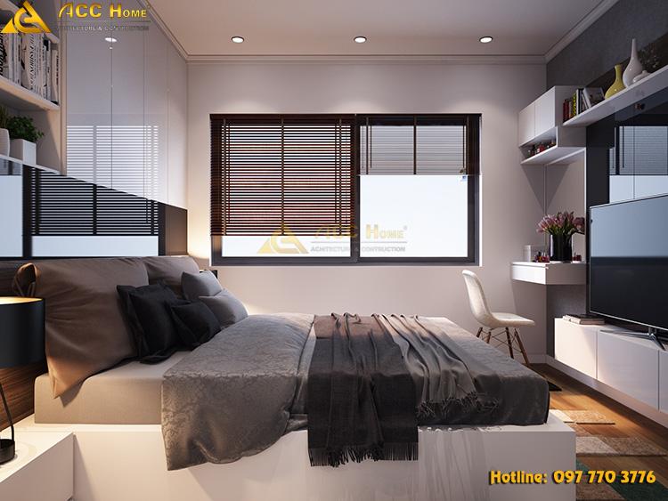 Thiết kế nội thất phòng ngủ của gia chủ