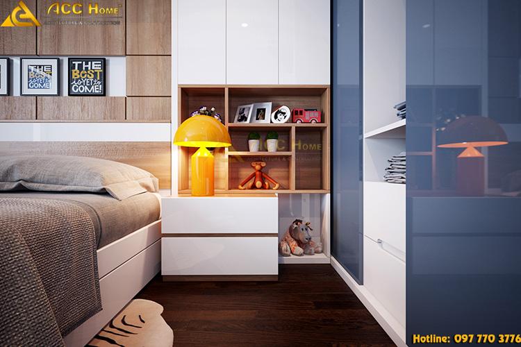 Thiết kế nội thất phòng con trẻ phong cách hiện đại