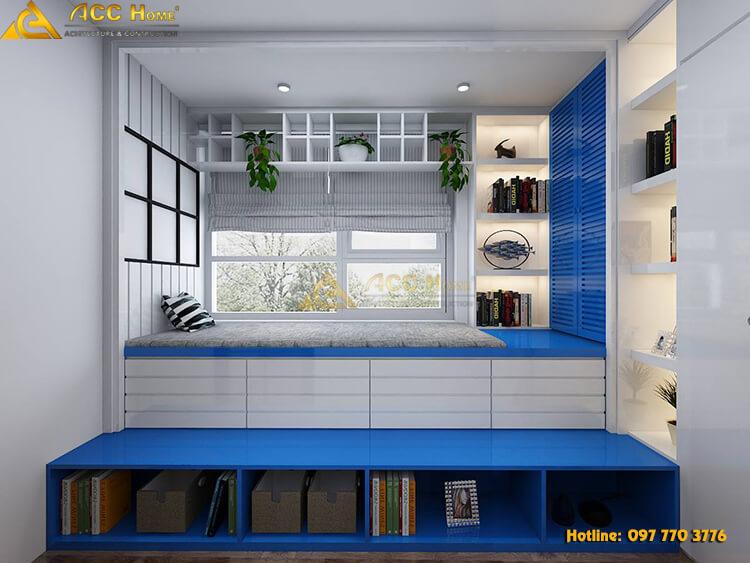 Thiết kế không gian phòng đọc sách