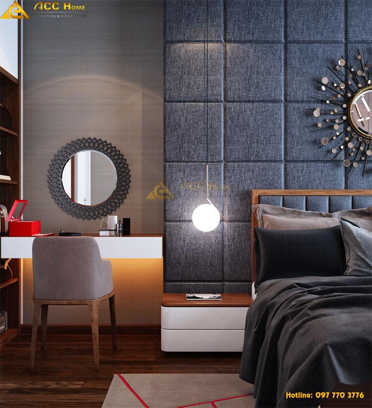 Thiết kế nội thất diện tích phòng ngủ
