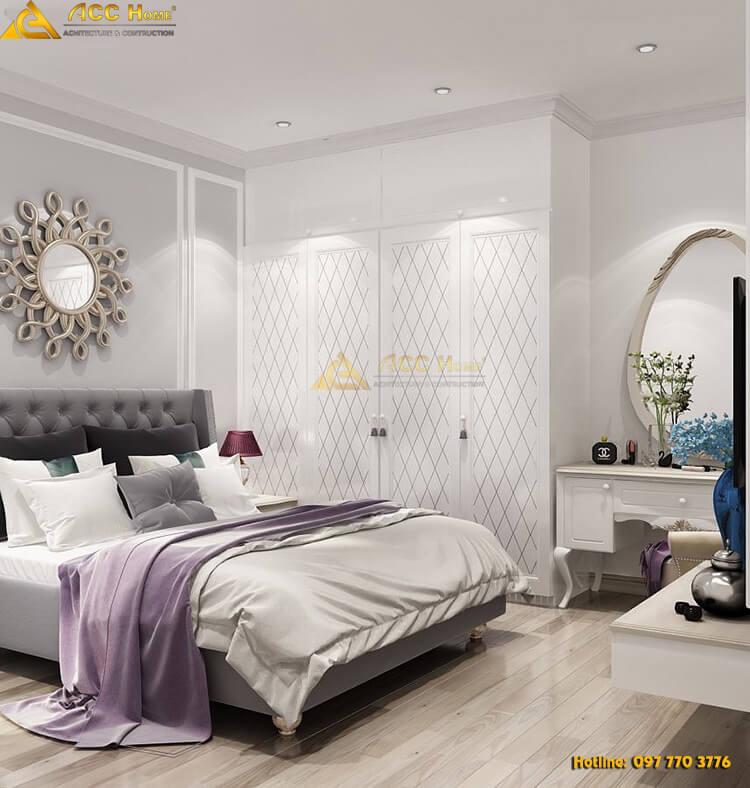 Góc nhìn tiểu cảnh phòng Master của phòng ngủ