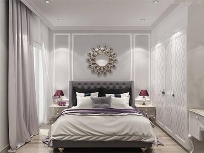 Thiết kế nội thất tân cổ điển nhà 110m2