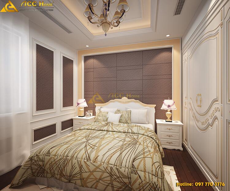 thiết kế phòng ngủ thứ 2 trong căn biệt thự