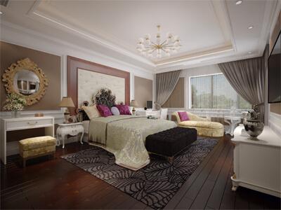 Thiết kế nội thất biệt thự tân cổ điển tại Hải Phòng