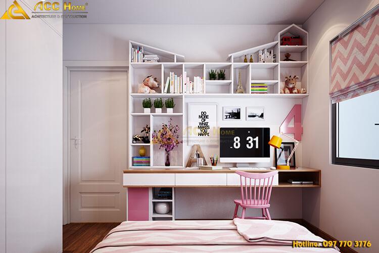 Thiết kế nội thất góc học tập