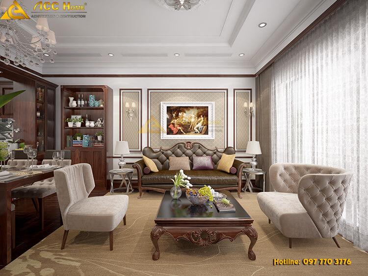 thiết kế bàn ghế nội thất phòng khách