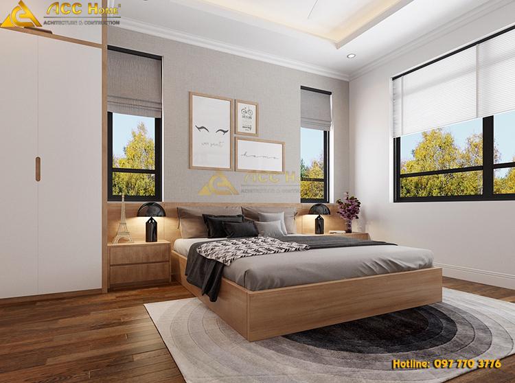 thiết kế nội thất phòng ngủ con trai 02