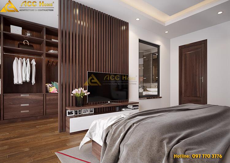 thiết kế rèm ngăn phòng ngủ và phòng vệ sinh