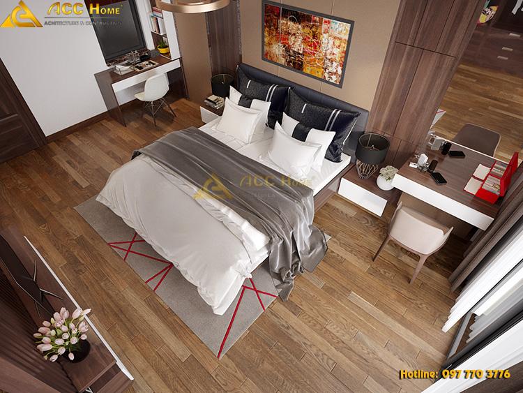 nội thất toàn cảnh phòng ngủ master