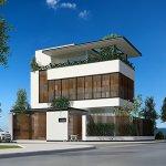 Thiết kế biệt thự hiện đại Xuân Phương Villa diện tích 9x15m2