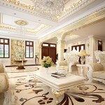Thiết kế nội thất biệt thự tân cổ điển tại thành phố Hạ Long