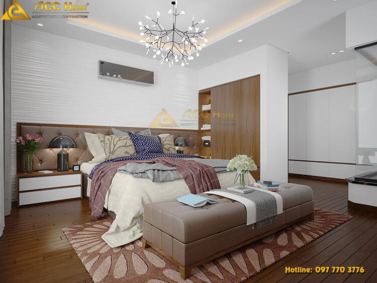 Thiết kế nội thất phòng ngủ nha phố
