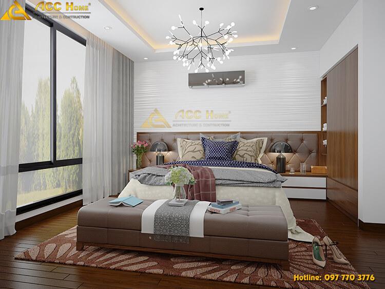 Thiết kế nội thất phòng ngủ nhà anh Hồng