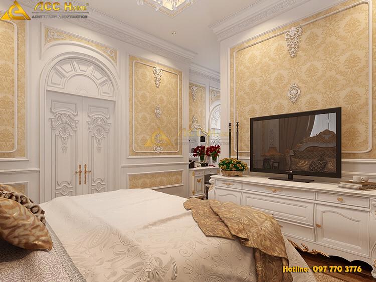 góc nhìn tiểu cảnh phòng ngủ Master