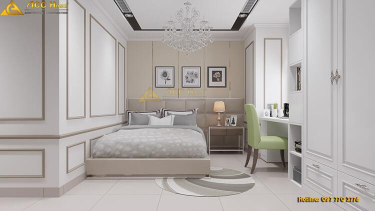 thiết kế phòng ngủ nhỏ cho khách