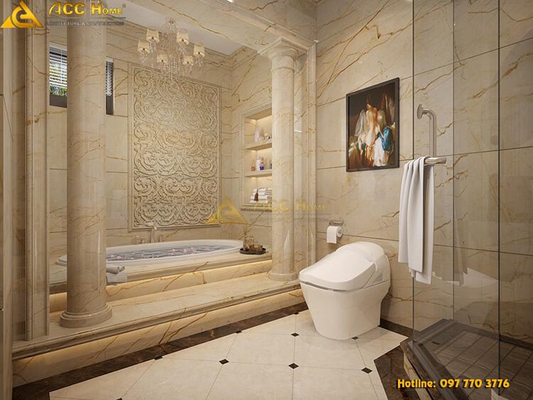 thiết kế bồn tắm trong phòng tắm