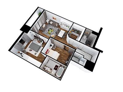 Thiết kế nội thất nhà anh Đỗ Việt Anh