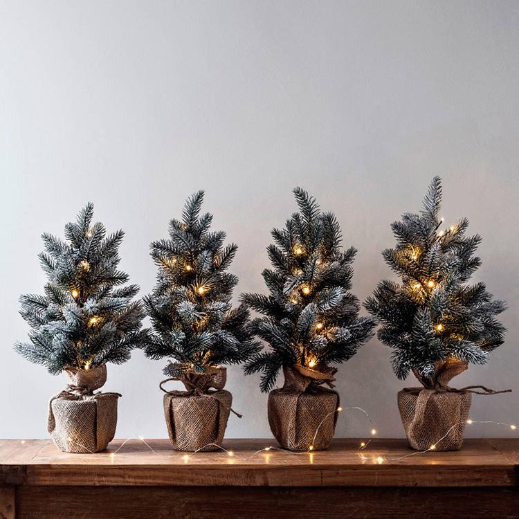 tạo hình cây thông Noel