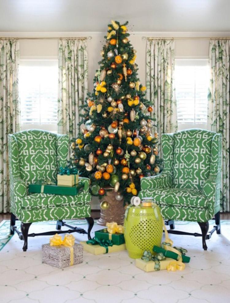 tự trang trí cây thông Noel