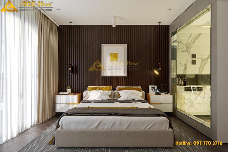 thiết kế nội thất giường ngủ