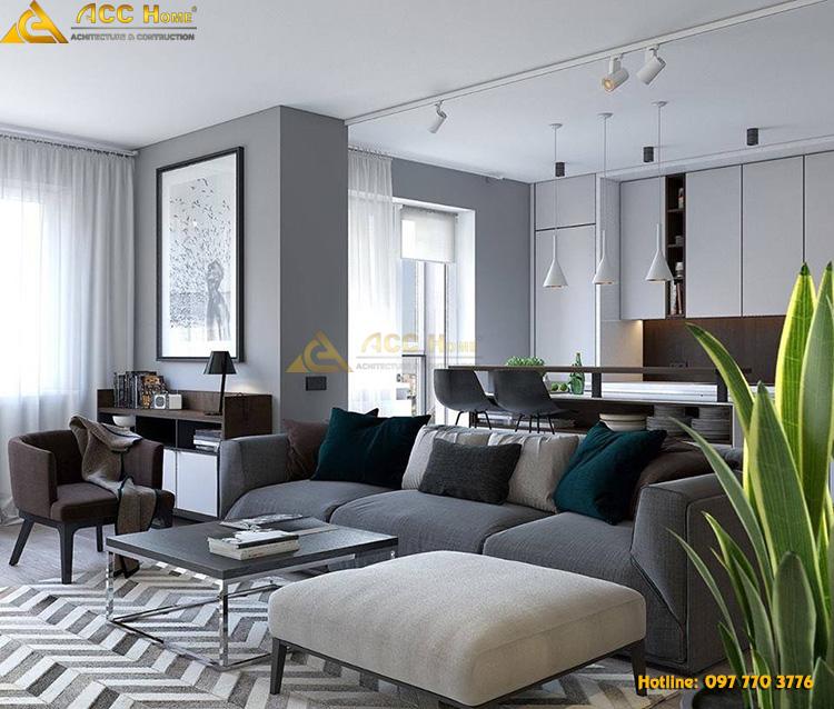 thiết kế đồ nội thất phòng khách