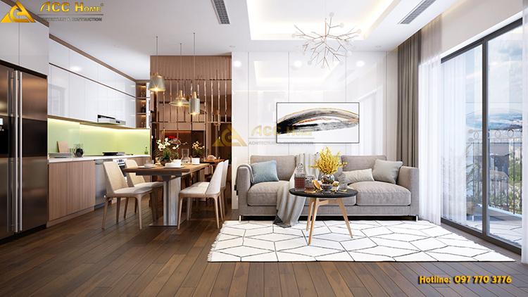 Thiết kế nội thất chung cư 122m2