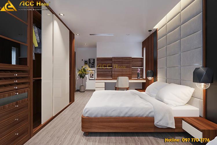thiết kế phòng ngủ Master tại Thanh Xuân Hà Nội