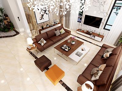 Thiết kế nội thất khách hàng Trần thị Thu Hiền