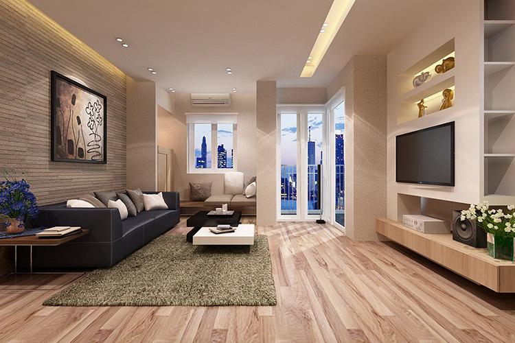 thiết kế phòng khách theo phong thủy