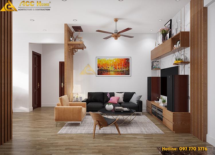 mẫu nội thất căn hộ cao cấp sang trọng