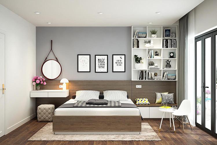 ý tưởng thiết kế phòng ngủ căn hộ