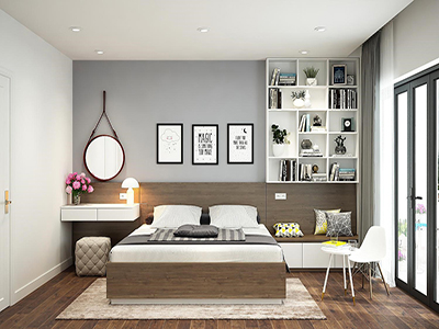 Một sô ý tưởng thiết kế phòng ngủ căn hộ