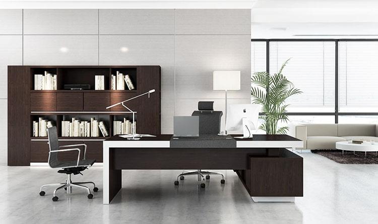 Thiết kế nội thất phòng giám đốc 27m2