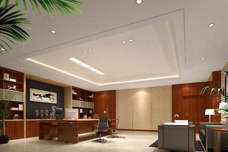 Mẫu thiết kế nội thất phòng giám đốc có 29m2