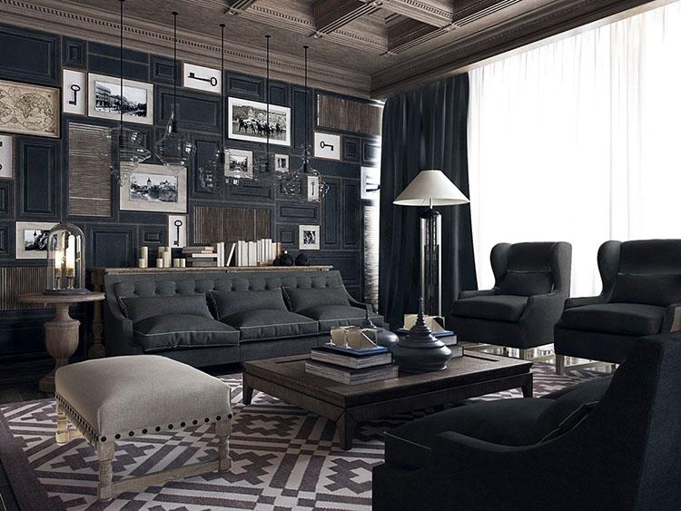 Mẫu thiết kế nội thất phòng giám đốc 22m2
