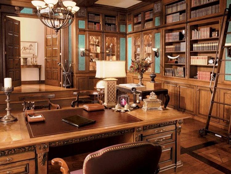 Thiết kế nội thất phòng giám đốc tân cổ điển 22m2