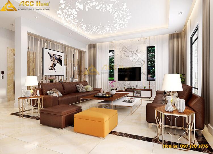 nội thất không gian phòng khách đẹp
