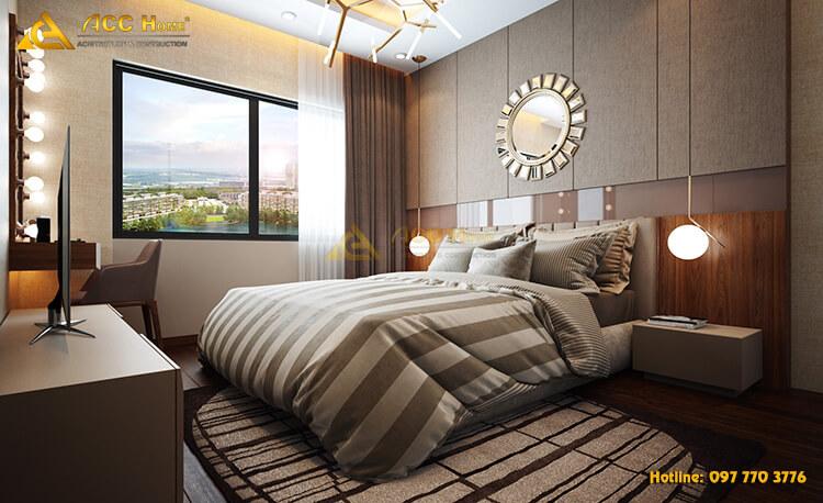 nội thất phòng ngủ chung cư cao cấp