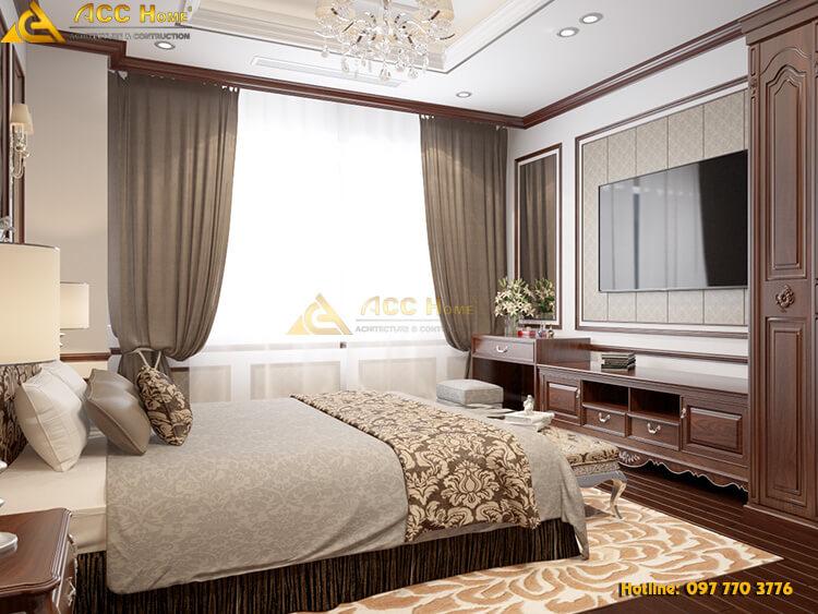 thiết kế phòng ngủ không gian đẹp