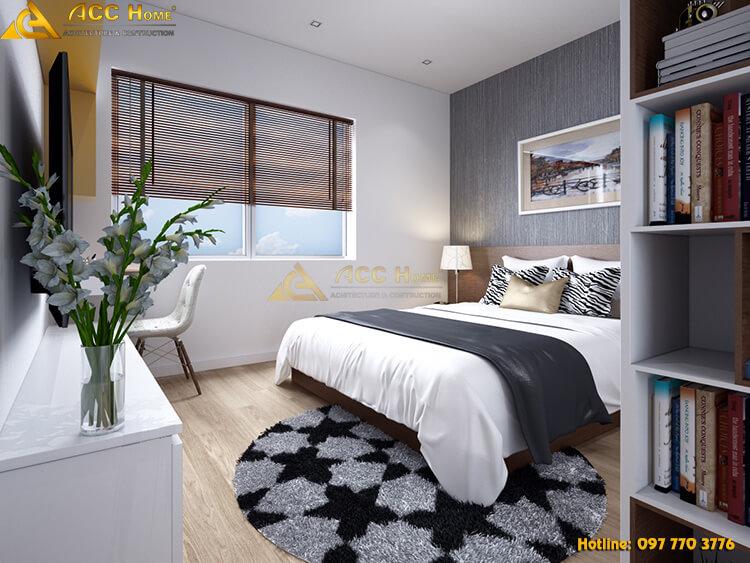 thiết kế phòng ngủ tại Hoàng Mai