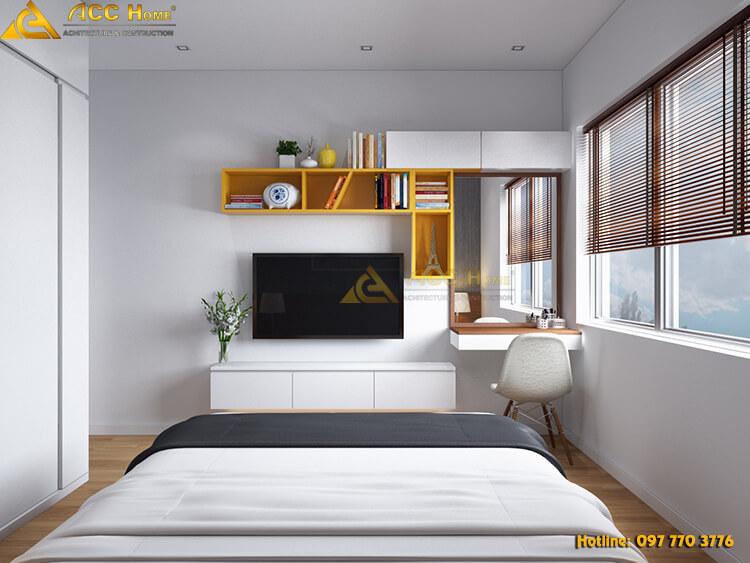 nội thất phòng ngủ phong cách Desco