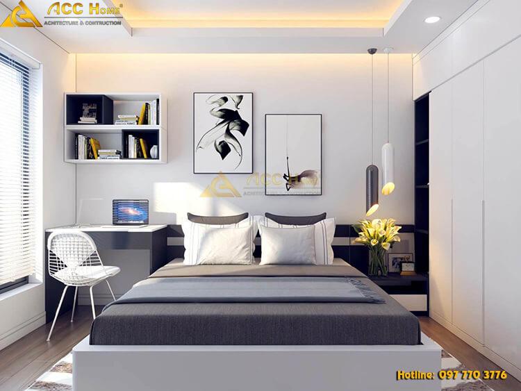 thiết kế phòng ngủ cho cặp đôi
